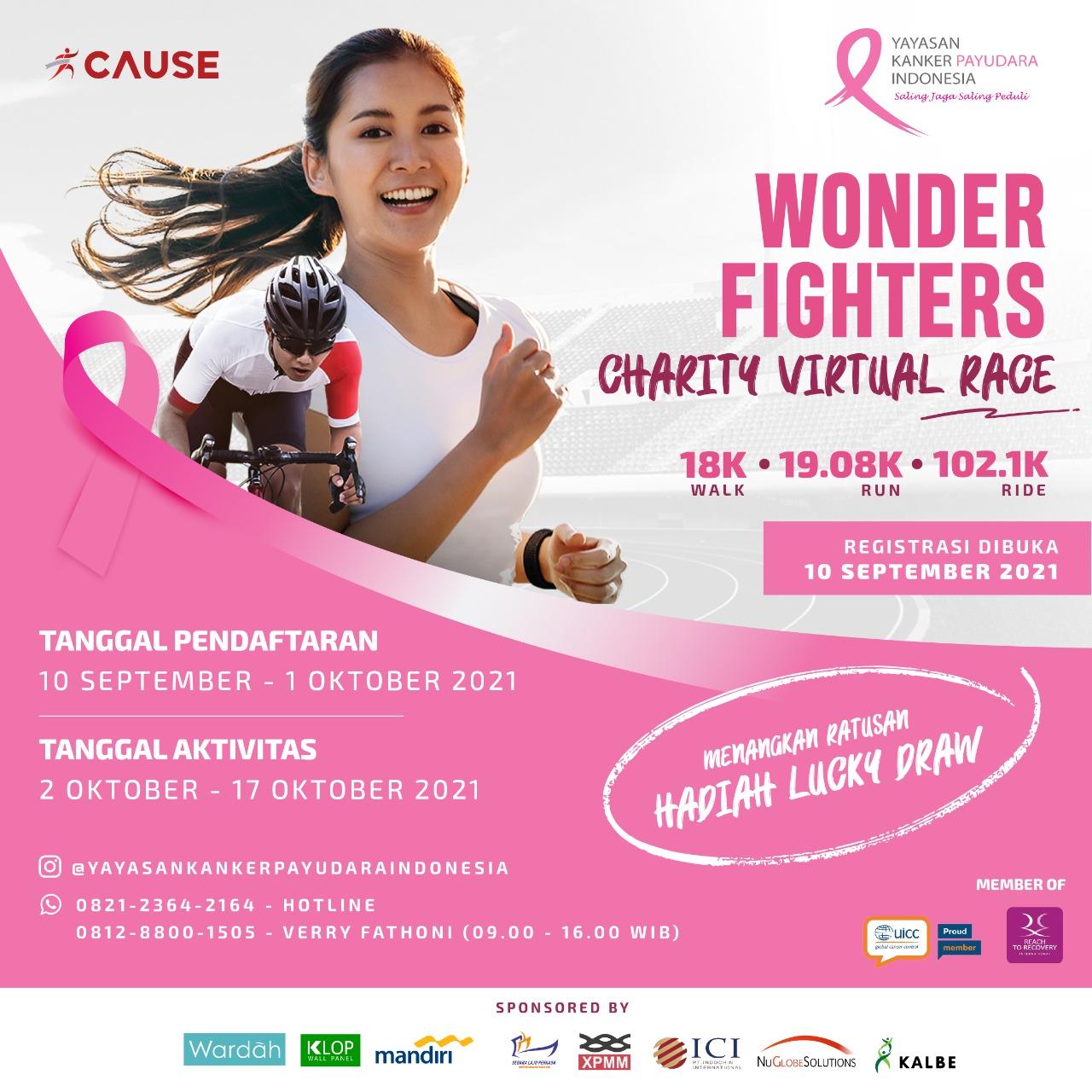 Charity Virtual Race: Wonder Fighters