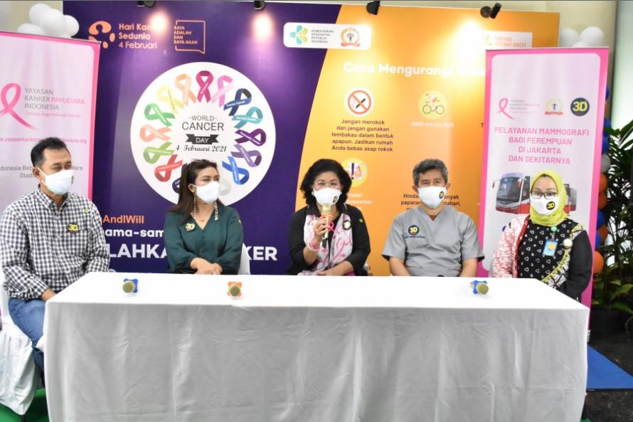 YKPI Aktifkan Layanan Unit Mobil Mamografi Saat Pandemi